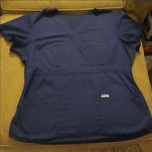 Greys Anatomy scrub top 2xl